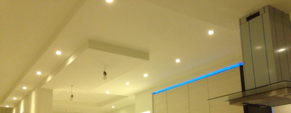Plafond Stucwerk